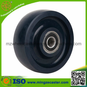 Solid Polyurethane Mold on Steel Core Caster PU Wheel pictures & photos