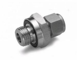 High Precision CNC Machining Brass Swivel Fittings for Large Machine pictures & photos