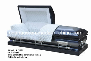 American Style 18 Ga Steel Casket (18H3501) pictures & photos