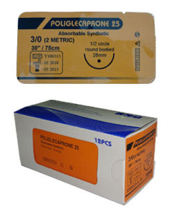 Poliglecaprone 25 Surgical Suture with CE & ISO pictures & photos