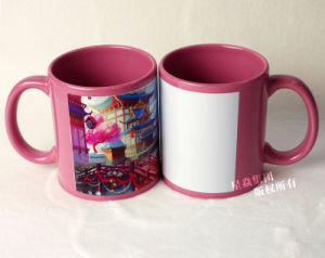 Sublimation Photo Mug 11oz Pink Full Color Mug pictures & photos