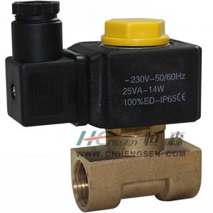 "M 2 0 C 5 Solenoid Valve 3/8""B S P /Normally Closed Solenoid Valve/Direct Operation Solenoind Valve/Water Solenoid Valve/Air Solenoid Valve/Oil Solenoid Valve pictures & photos"