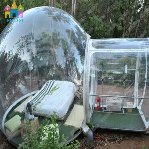 Us & Ce Transparent 10m Diameter Camping Inflatable Crystal Bubble Tent pictures & photos