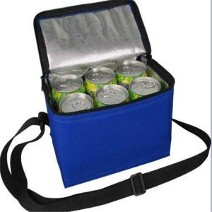 Non Woven 6 Can Beer Bag with Long Handle pictures & photos