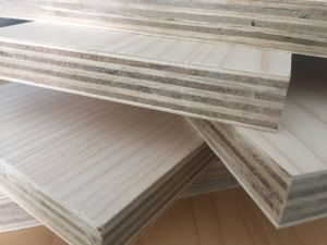 Hot Sale Cheap 18 mm Comercial Plywood / Melamine Faced Plywood /Melamine Plywood pictures & photos