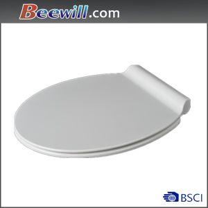 European Standard Urea Material Restroom Toilet Seat pictures & photos