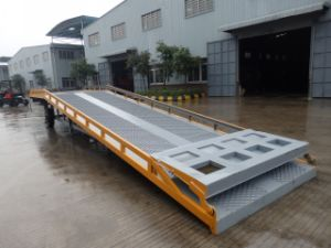 12 Ton Cargo Loading Ramps with Yellow Color pictures & photos