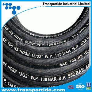 Wire Spiral DIN En856 4sp/4sh Hydraulic Rubber Hose pictures & photos