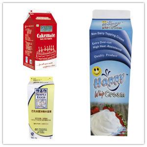 1L 3 Layer Cream Gable Top Carton pictures & photos