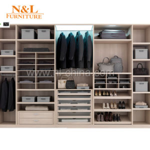 N&L Modern Wood Bedroom Wardrobe Designs pictures & photos