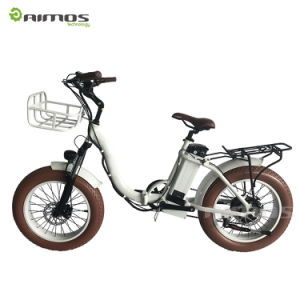 26*4.0 Kenda Type Rear Max 1000W Electric Bicycle pictures & photos
