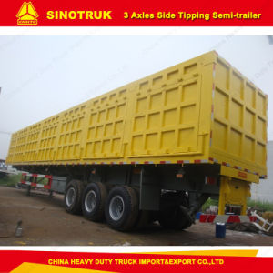 China Supplier 3-Axles Trucks Dump Semi Trailer with Top Quality pictures & photos