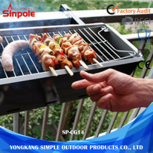 Wholesale Hanging Best Barbecue Charcoal BBQ Grill Stainless Steel pictures & photos