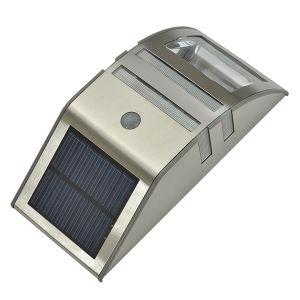 2PCS LED Sources Motion Sensor LED Solar Wall Light pictures & photos