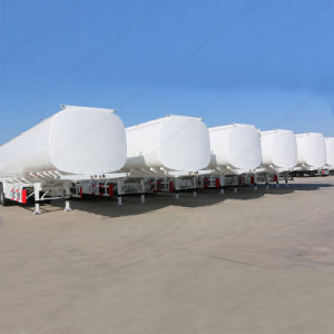 3 Axles 4000 Liters Oil Tank Semi-Trailer for Sale pictures & photos