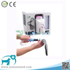 Ysav600PV Medical Hospital Porable Animal Anesthesia Equipment pictures & photos