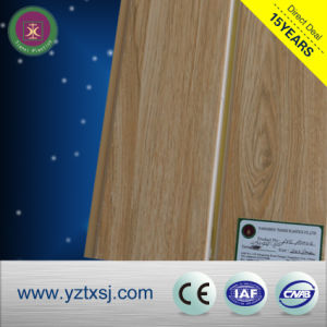 Lamination PVC Ceiling Panels Wood Color with Smooth Surface pictures & photos