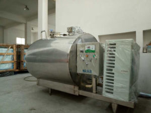 Stainless Steel Milk Insulation Cooling Tank Price R22 404A pictures & photos