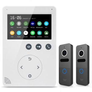 Memory Intercom Home Security 4.3 Inches Doorbell Interphone Video Doorphone pictures & photos
