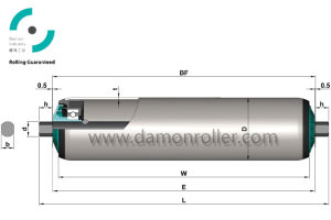 China Carrier Conveyor Roller (1200) pictures & photos