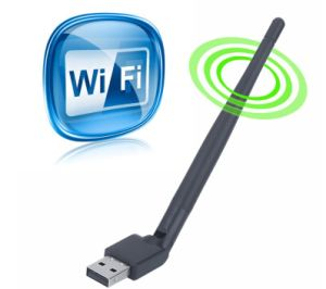 High Quality 150Mbps 802.11 B/G/N Ralink Rt5370 Wireless USB Adapter pictures & photos