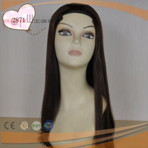 Cheap Long Human Hair Fall Wig (PPG-l-01485) pictures & photos