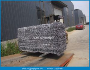High Quality of Gabion Basket / Hot Dipped Galvanized Gabion Box /Hexagonal Gabion for Dam pictures & photos