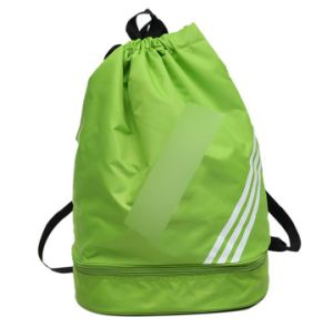 Promotion Sports Drawstring Gymsack Gym Bag Foldable Backpack pictures & photos