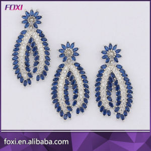 Free Sample Brass Dubai Gold Plated Fashion Jewelry Sets pictures & photos