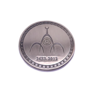 Manufacturer Wholesale Cheap Custom Metal Stamping Engraved Token Coins for Sale pictures & photos