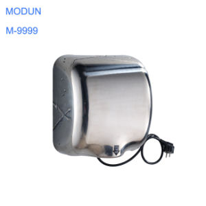 1800W Stainless Steel Commercial High Speed Quick Drying Touchless Electric Hand Dryer Secador De Manos De Alta Velocidad En Acero Inoxidable 304 pictures & photos
