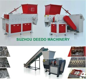 Automatic Single Shaft Shredder Plastic Machine pictures & photos
