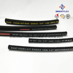 Black Rubber Steel Wire Reinforced SAE 100 R1 Hydraulic Hose pictures & photos