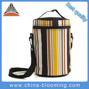 Waterproof Barrel Shape Cool Can Thermal Insulated Lunch Cooler Bag pictures & photos