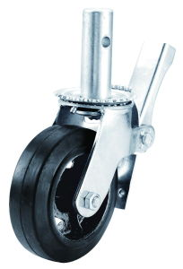 """6""""/8"""" Heavy Duty PU on Aluminum Scaffold Caster pictures & photos"""