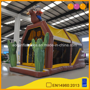 Cheap Customized Cowboy Inflatable Shooter Game Inflatable Shooting Sport (AQ07170-1) pictures & photos