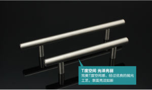 T Bar Solid Hollow Stainless Steel Handle pictures & photos