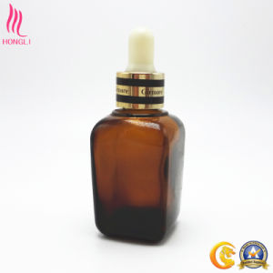 Cosmetic Glass Container with Dropper Rubber Cap pictures & photos