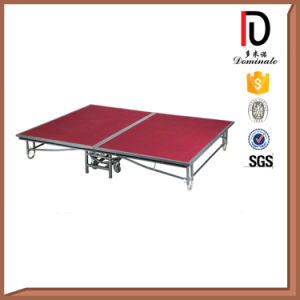 Outdoor and Indoor Event Use Folding Mobile Stage Br-St004 pictures & photos