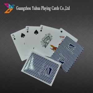 0.3mm Thickness 100% Plastic Casino Cards Playing Cards pictures & photos