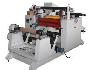 PVC Sticker Paper Slitter Machine pictures & photos
