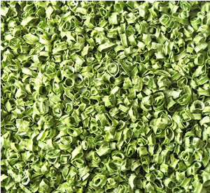 Dehydrated Ad Green Chive Roll 3x3mm