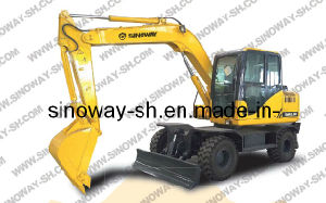 Wheel Excavator with 80 Ton Operating Weight pictures & photos