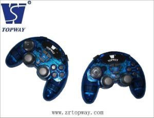 USB Double Dual Shock Joypad - Video Game Accessories (TP-USB516B)