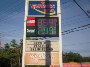 LED Panel - Outdoor Gas Station Pricing Sign pictures & photos