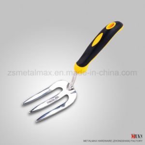 Wholesale Stainless Steel Garden Farming Tools Ash Wood Handle Hand Fork pictures & photos