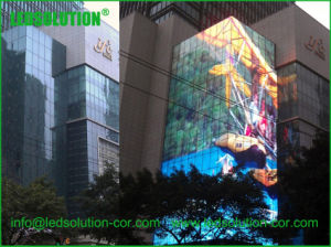 P25 Outdoor Transparent LED Display for Building Glass Window pictures & photos