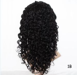 Wholesales Virgin Brazilian Hair Full Lace Wig Deep Wave Brazilian Hair/Indian Hair/Peruvian Hair/Malaysian Hair/Chinese Hair