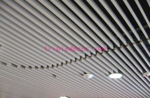 Customized Decorative Tube Aluminum Screen Ceiling Series