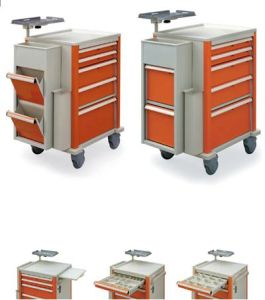 Thr-500p Hospital Emergency Cart Trolley pictures & photos